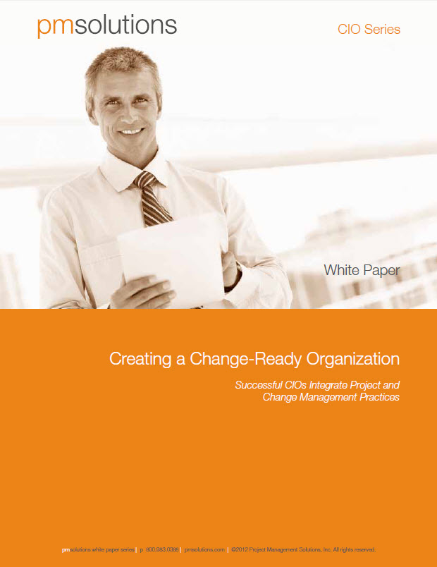 Don't Forget to Manage the Organizational Change that EPPM Tools Create